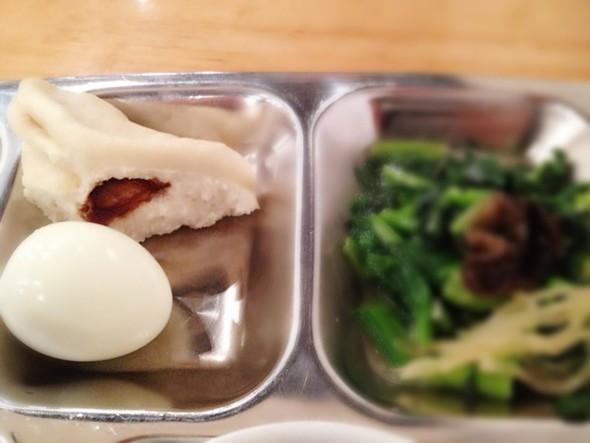 煮鸡蛋^_^,菠菜木耳