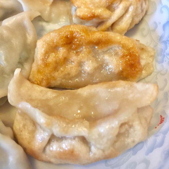两种馅儿的饺子