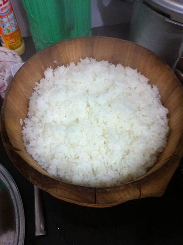 蒸米饭_八两金的美食日记