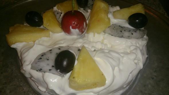 自制奶油蛋糕