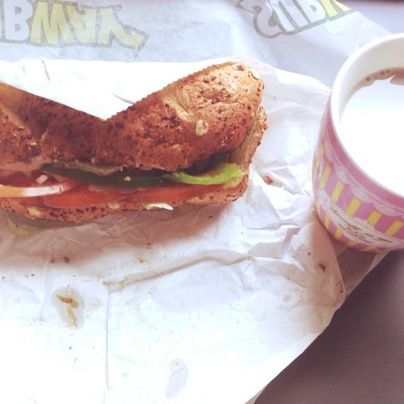subway+豆奶