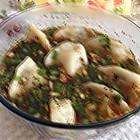 酸辣素水饺