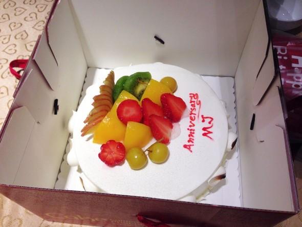 结婚一周年纪念蛋糕