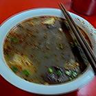 又一碗鸭血粉丝汤,没昨天的好吃