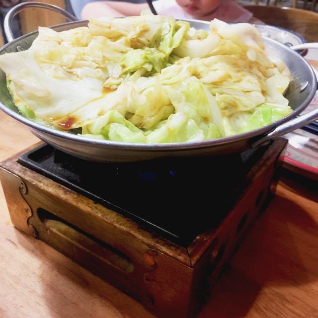 干锅包心菜