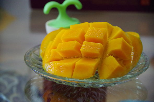 彩铅芒果教程步骤图