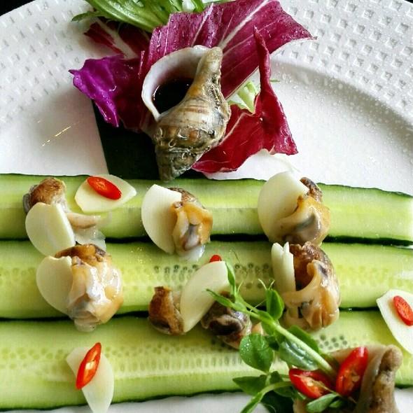 葱姜纯净水煮小海螺图片