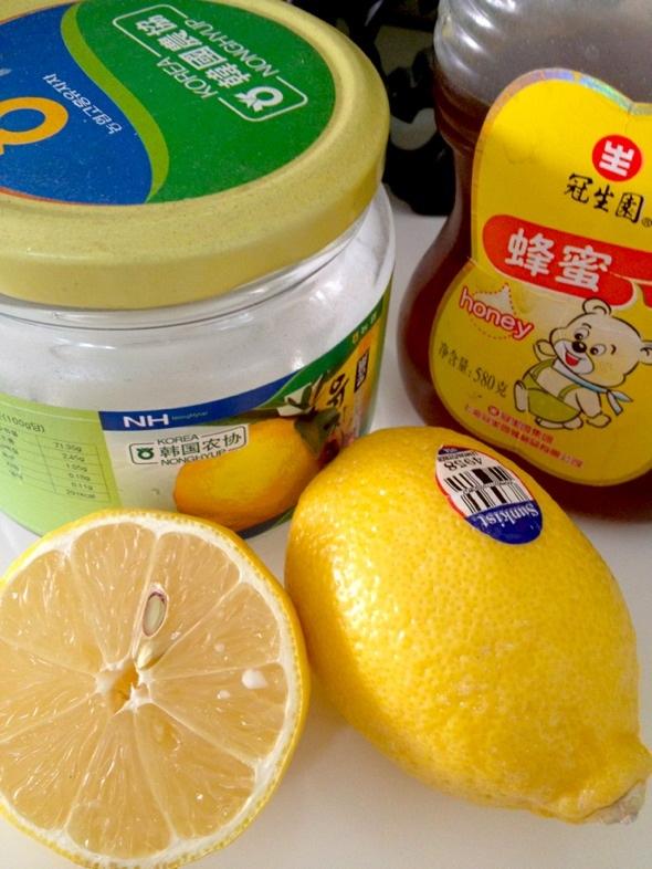 准备自制蜂蜜柠檬茶