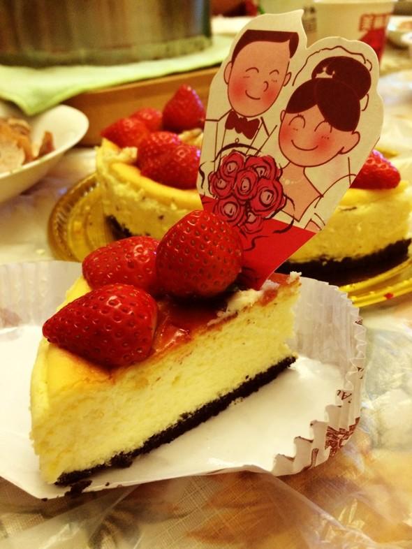 草莓芝士,草莓芝士蛋糕