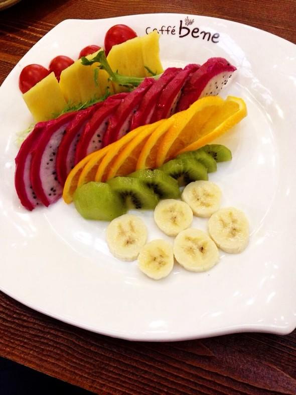 下午茶:水果