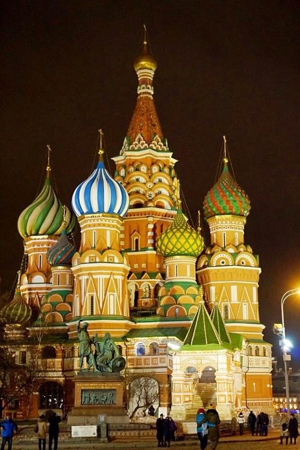 俄罗斯圣瓦西里大教堂