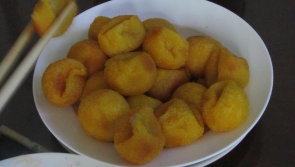 南瓜香芋麻团