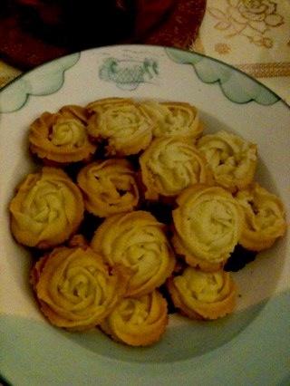 自制曲奇饼干_winnie的美食日记