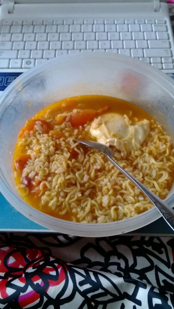米面,蛋混合