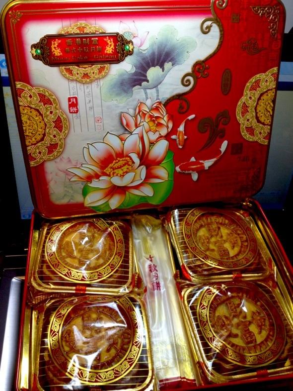 送我的2012中秋月饼 双黄白莲蓉-的美食日记 豆果美食
