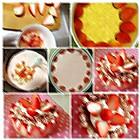 自制草莓慕斯蛋糕