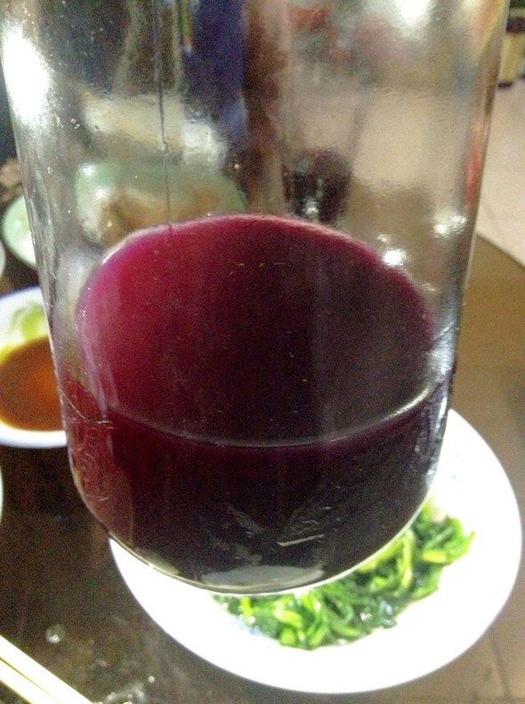 奶奶自制葡萄酒