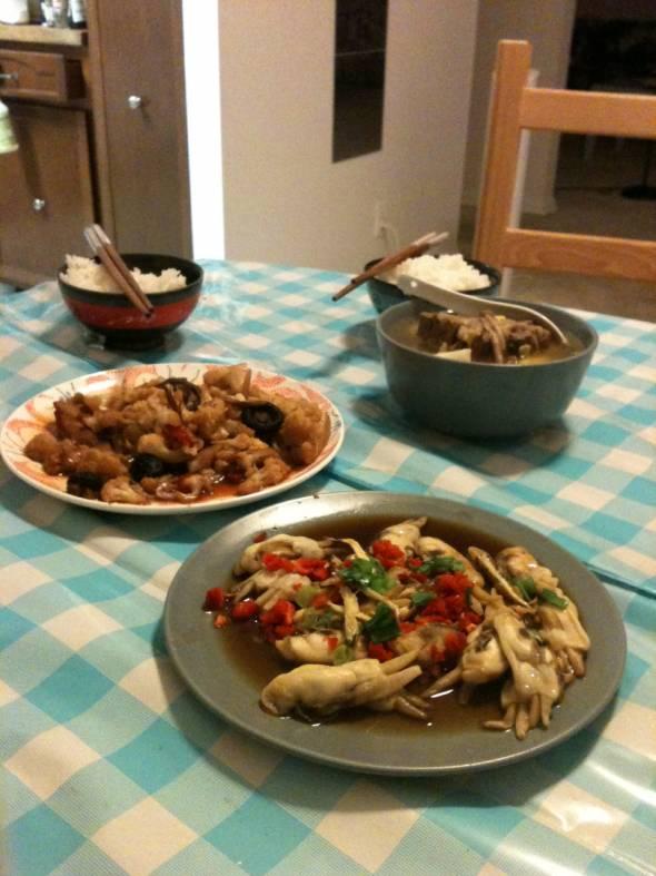 蛏子,玉米,美食骨牛尾汤_ULYSSES的螃蟹花菜铁日记怎么吃图片