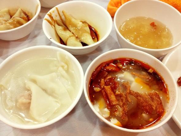 精品川菜,龙抄手钟水饺豆花银耳羹,担担面赖汤圆,成都