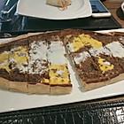 鸡蛋牛肉披萨