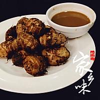 秋食记:香糯红芋艿