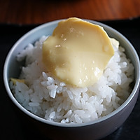 蒸水蛋与米饭