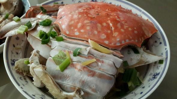 蒸螃蟹_迅迅的美食日记