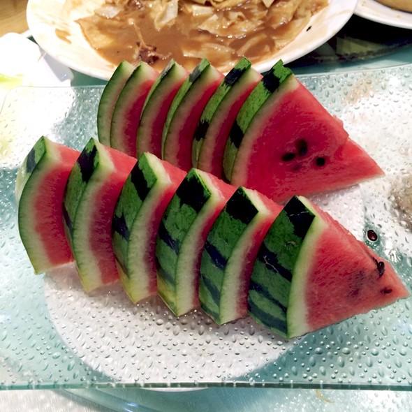 美食手绘图西瓜