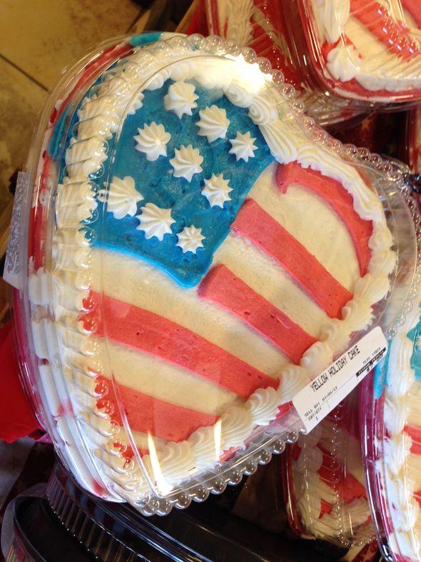 American Icon Cake