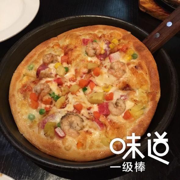 海陆满溢披萨