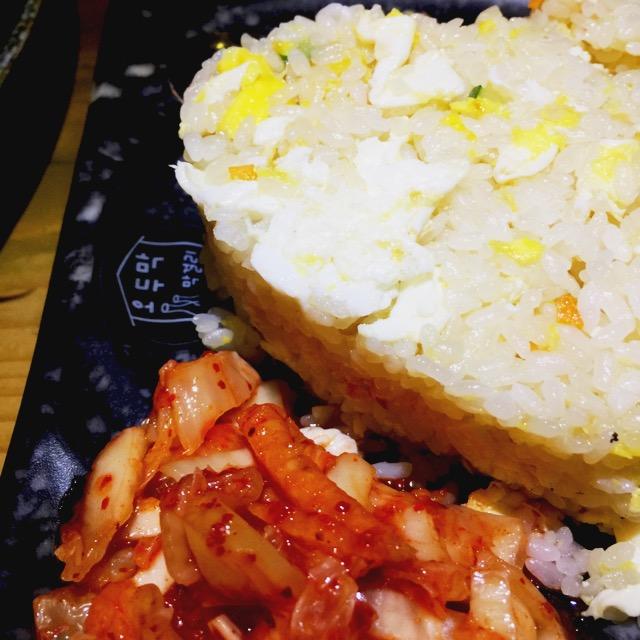 炒饭配泡菜
