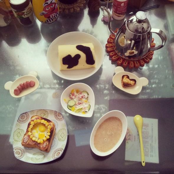 简单营养的早餐