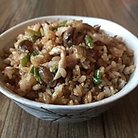 蟹味菇炒饭