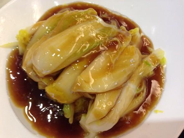 蚝油用菜醮着直接吃,生吃端午节挂鸡蛋网图片图片