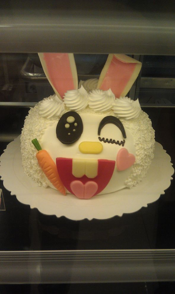 小兔子蛋糕_迅迅的美食日记