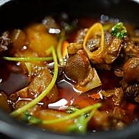 砂锅萝卜烧羊排