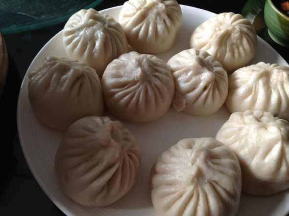 包子,旱萝卜肉丁馅,三鲜馅_马惠东的美食日记_豆果网