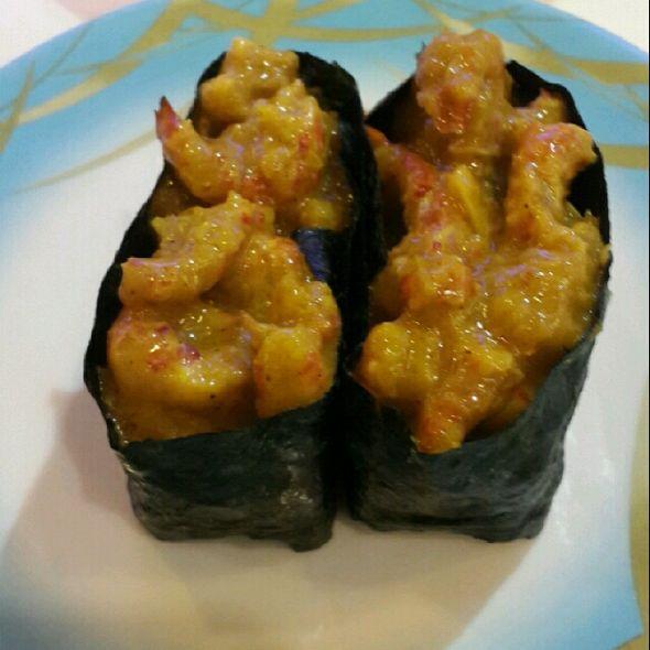 咖喱虾寿司