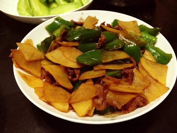 土豆片青椒