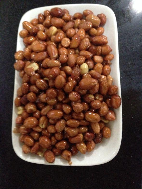 油炸花生豆
