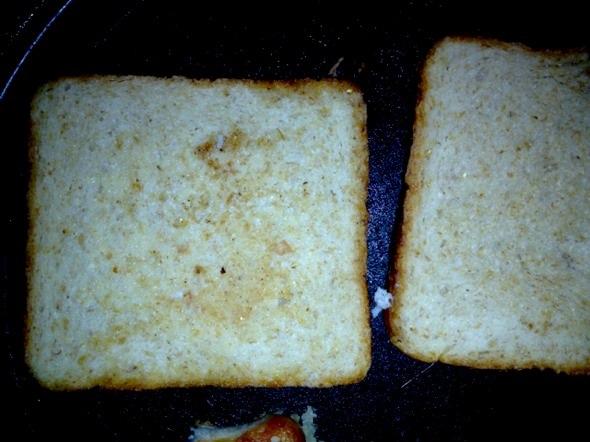 烤面包17:16 我烤的