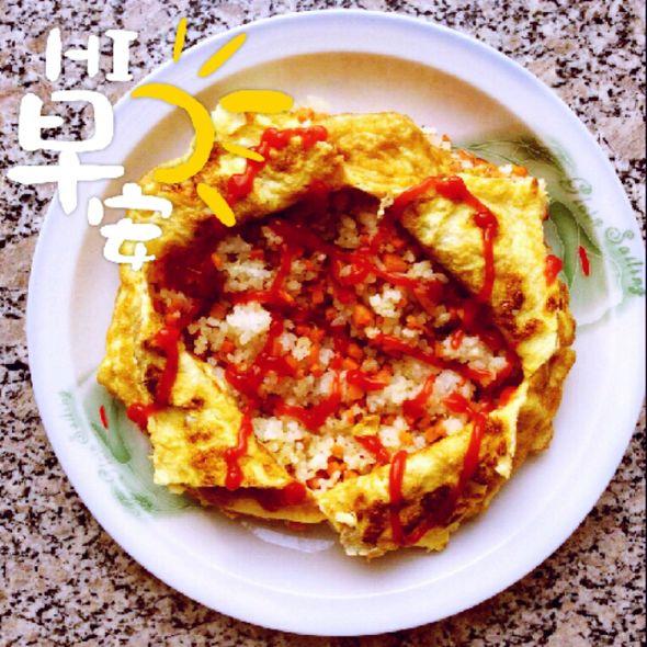 自制蛋包饭