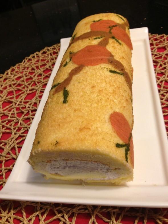 彩绘蛋糕卷