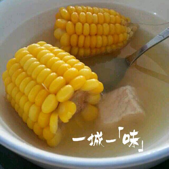 党参排骨玉米汤