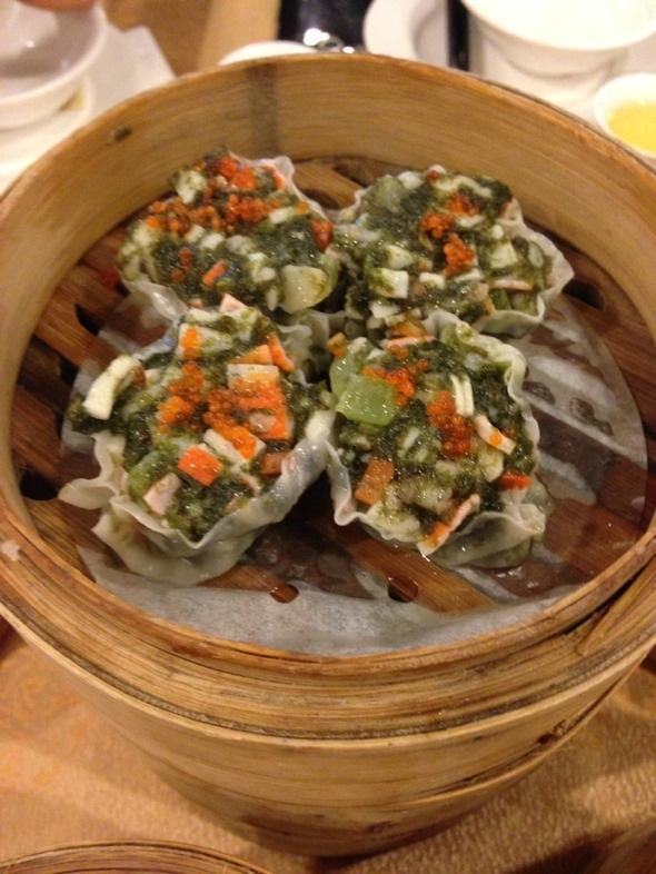 紫菜海鮮餃