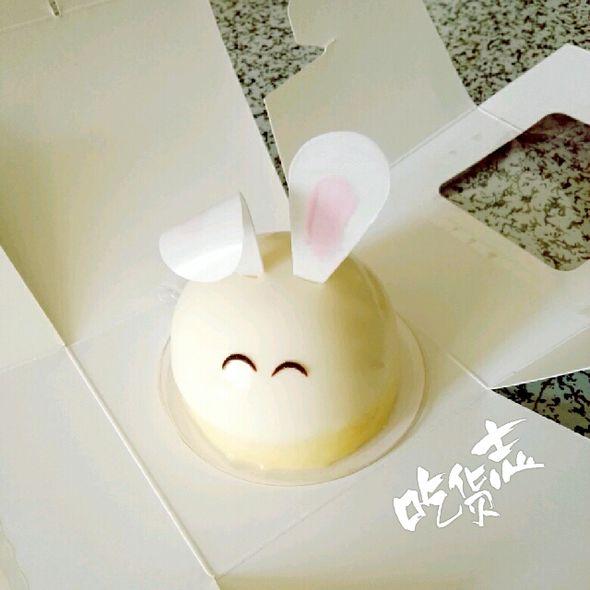 小兔子慕斯蛋糕_巽影玥的美食日记