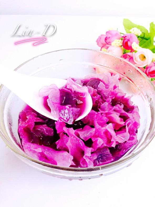 【银耳紫薯羹】_林大头er的美食日记_豆果美食