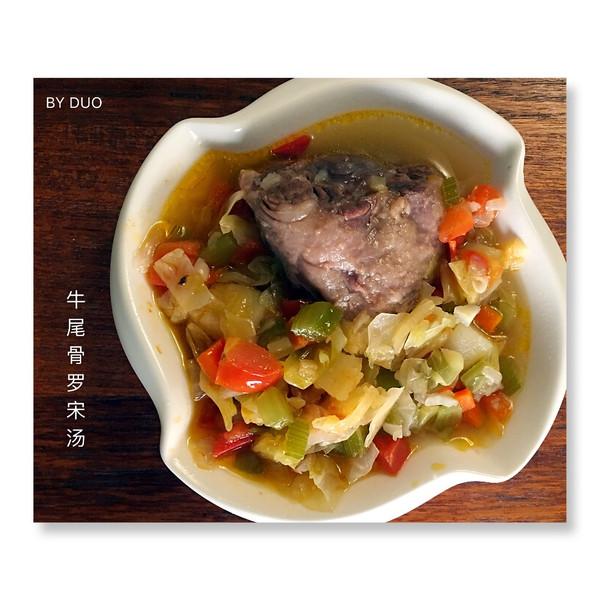 绵哚哚的牛尾骨罗宋汤做法的v牛尾家常照_豆粉丝炒鸡蛋的成果做法图片
