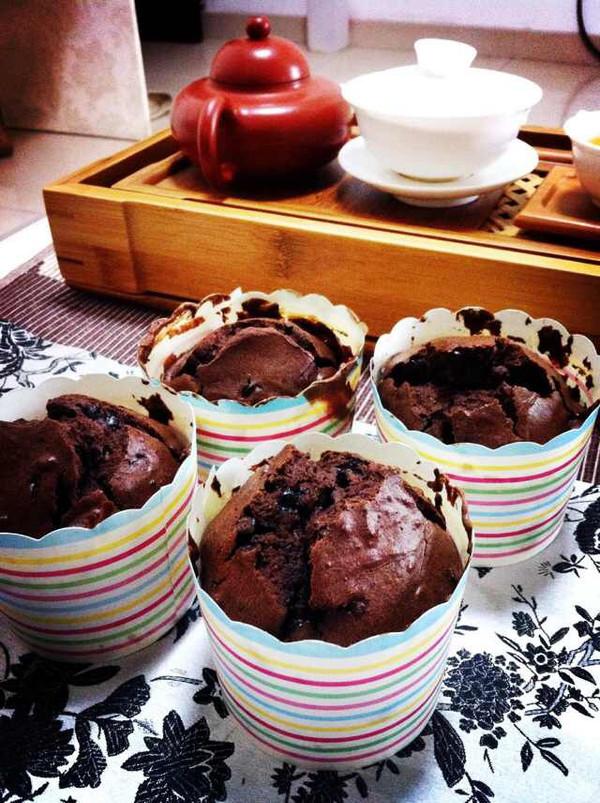 巧克力马芬杯(杯子蛋糕)的做法