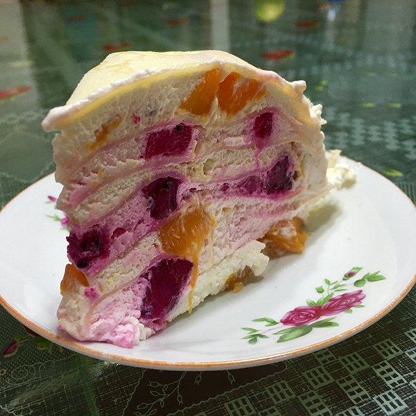 千层蛋糕的做法_芒果千层蛋糕的做法
